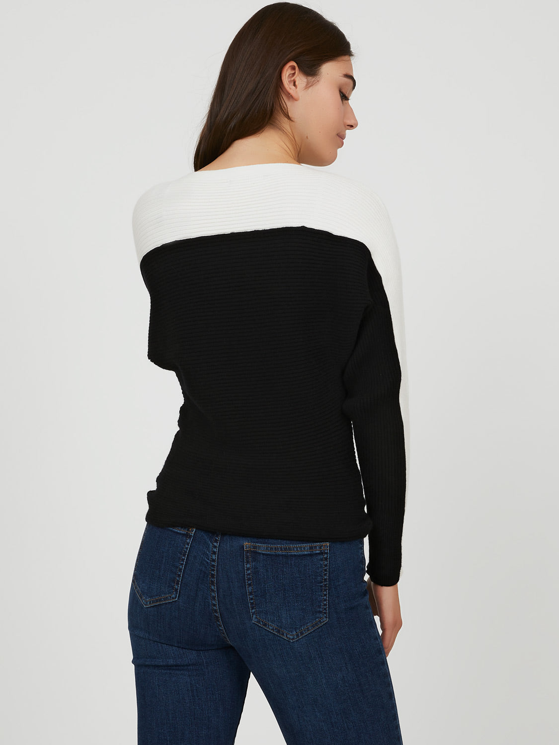 Cozy Chic Colour Block Sweater