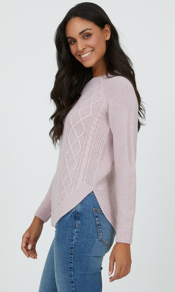 Casual Cable Knit Sweater