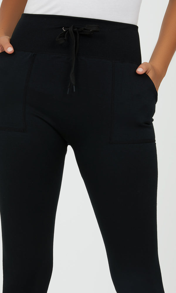 Fleece Lined Jogger Leggings