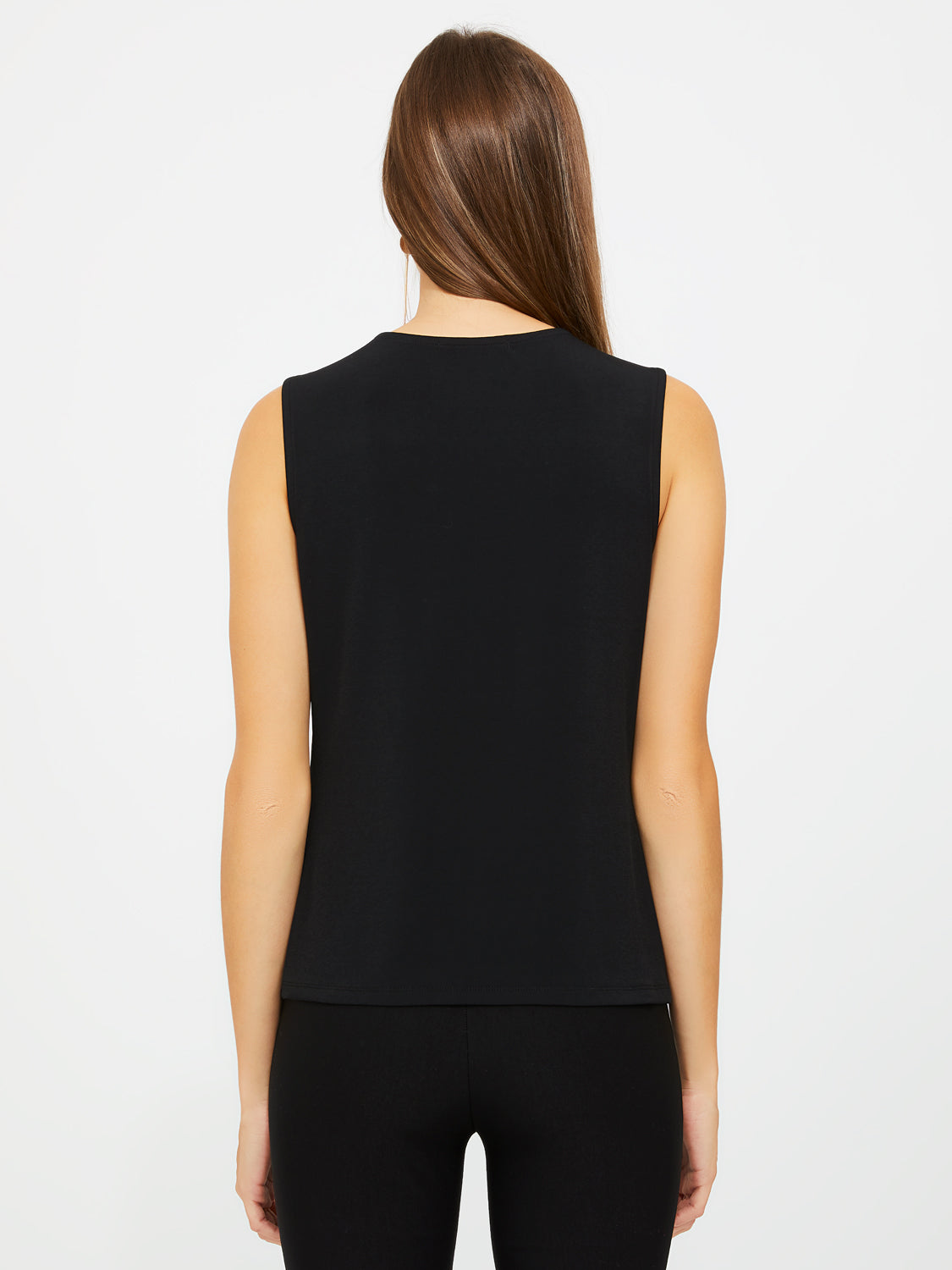 Sleeveless Asymmetrical Top