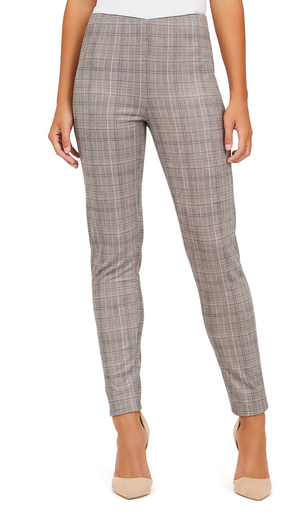 Menswear Print Pull-On Pants
