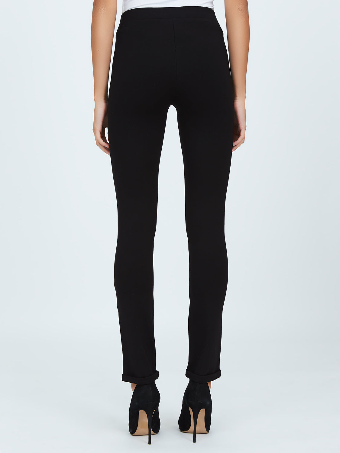 Cuffed Pull-On Pants