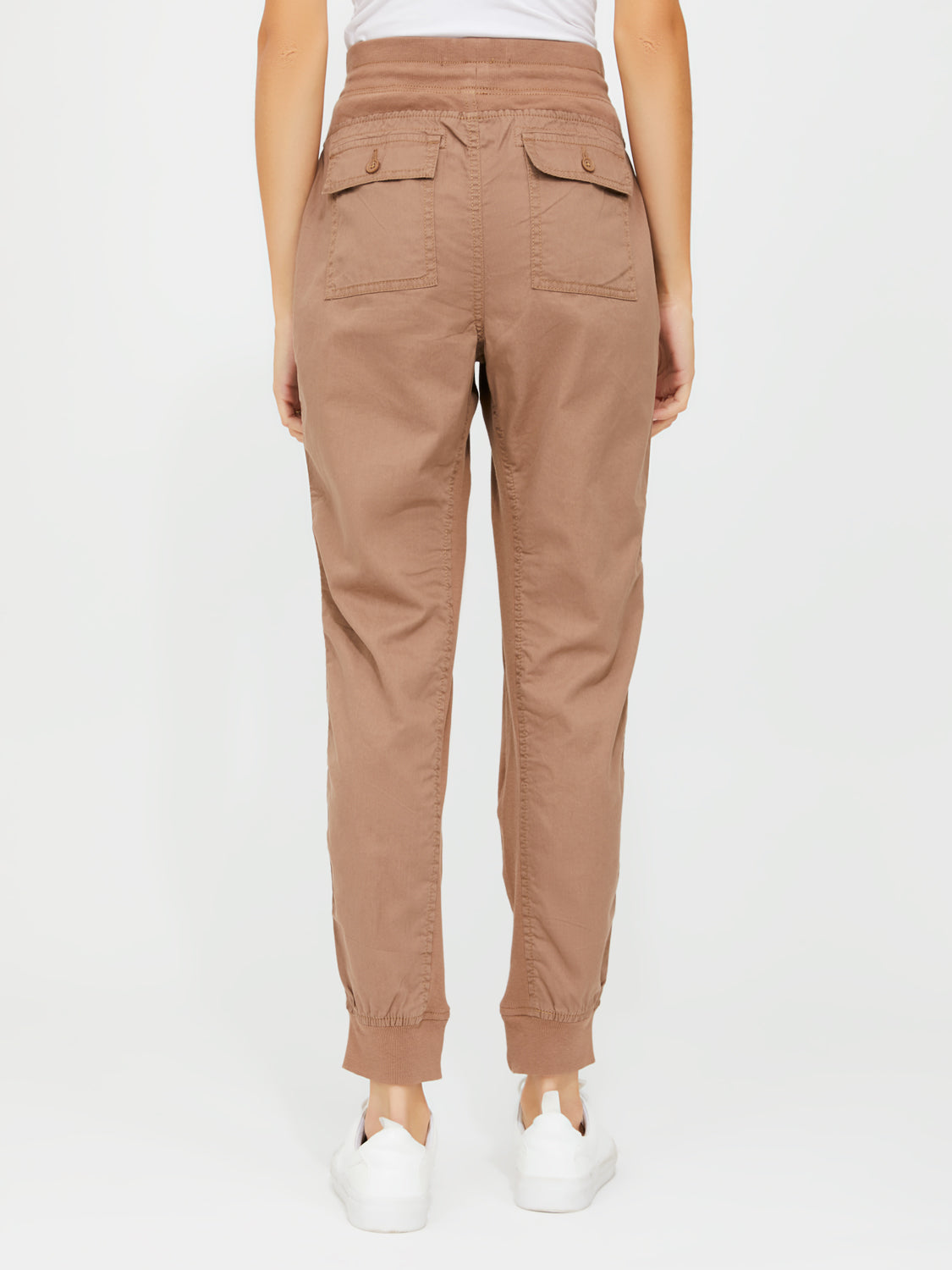 Pull-On Drop Crotch Jogger Pants