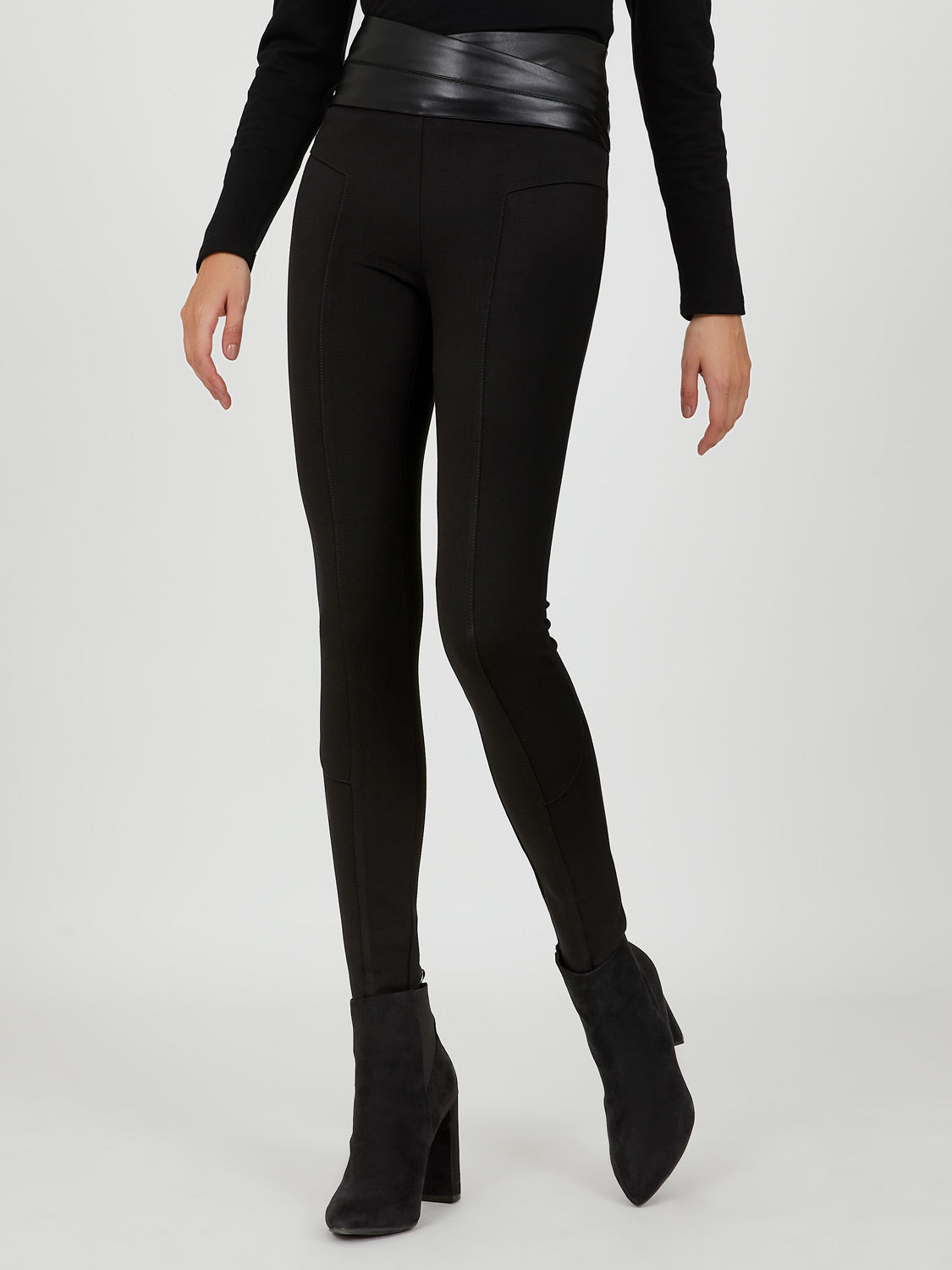 Skinny Faux Leather Pant