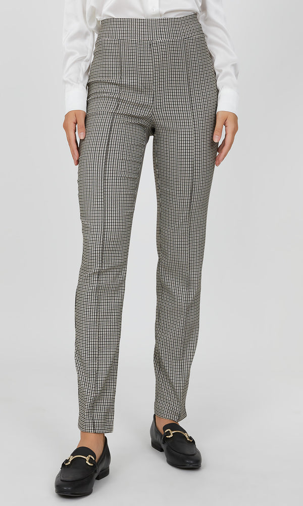 Slim Fit Plaid Pant