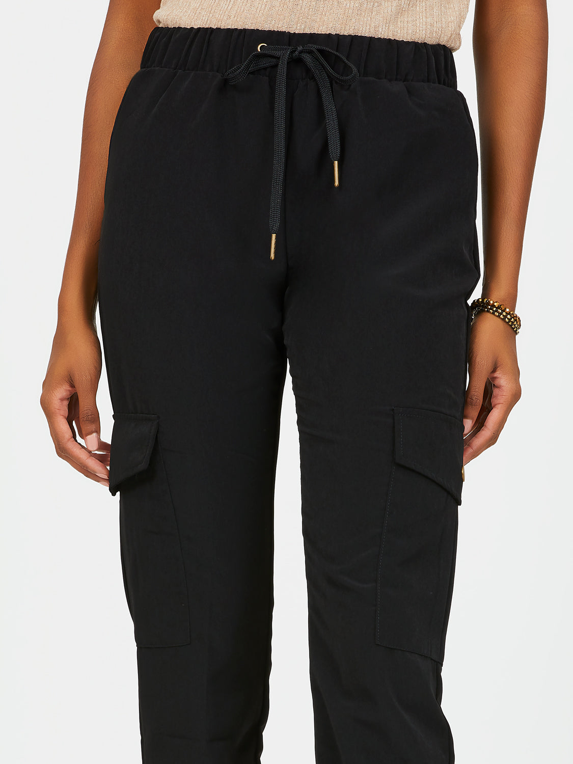 Pull-On Drawstring Joggers