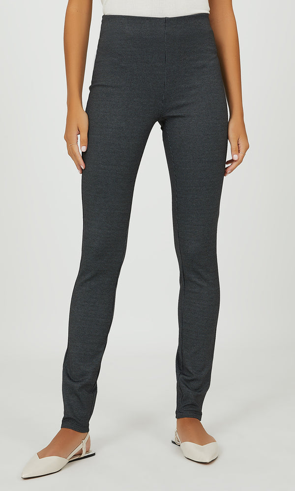 Houndstooth Skinny Pant