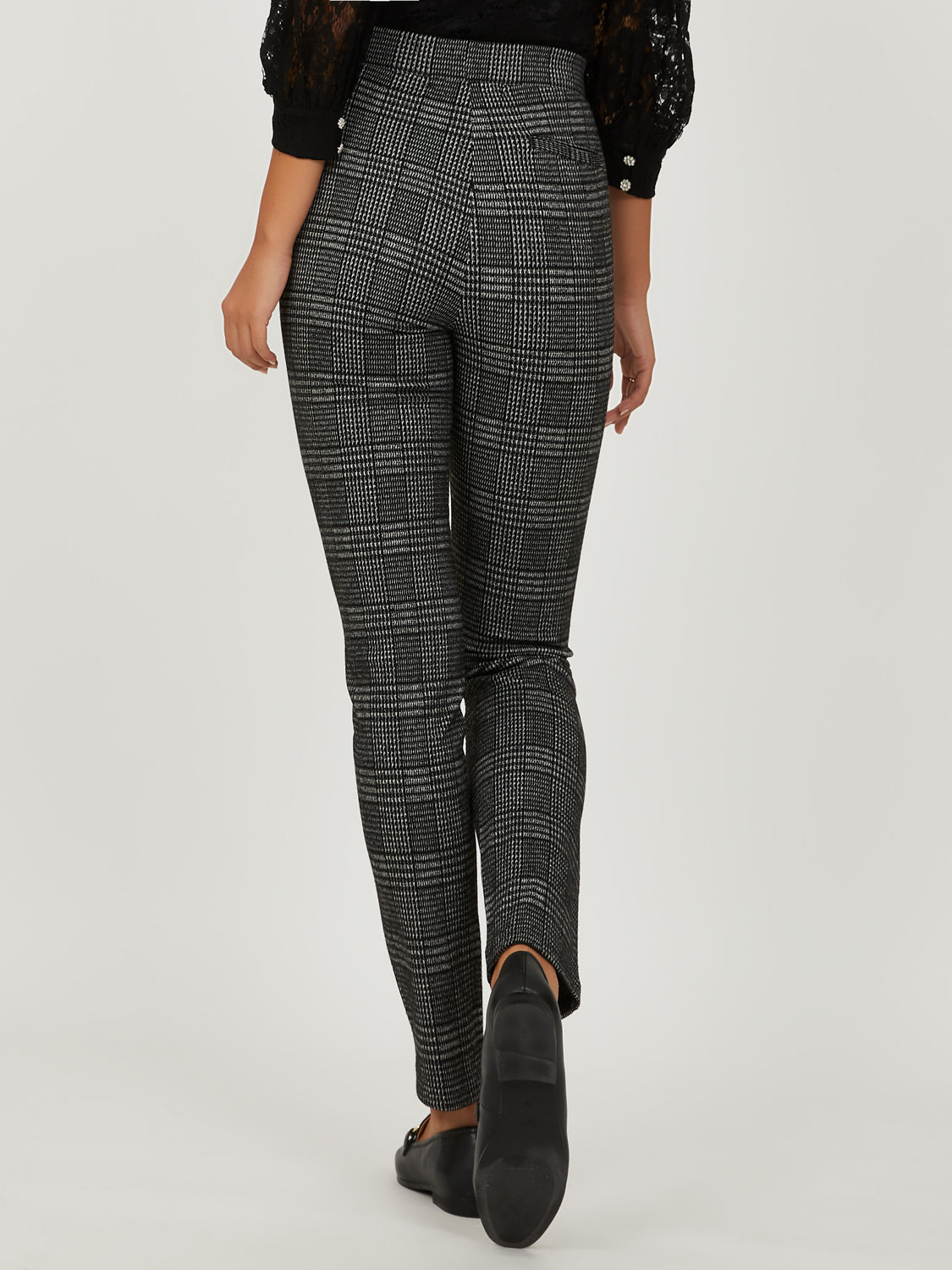Glen Check Jacquard Trouser