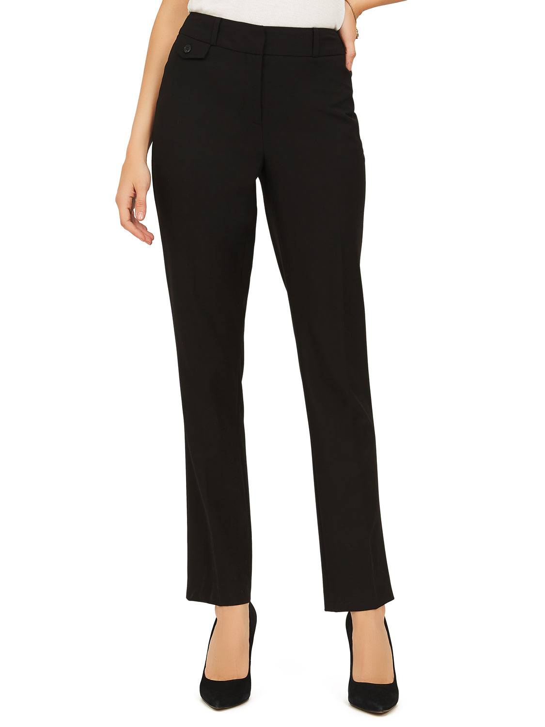 Ankle Length Straight Pants