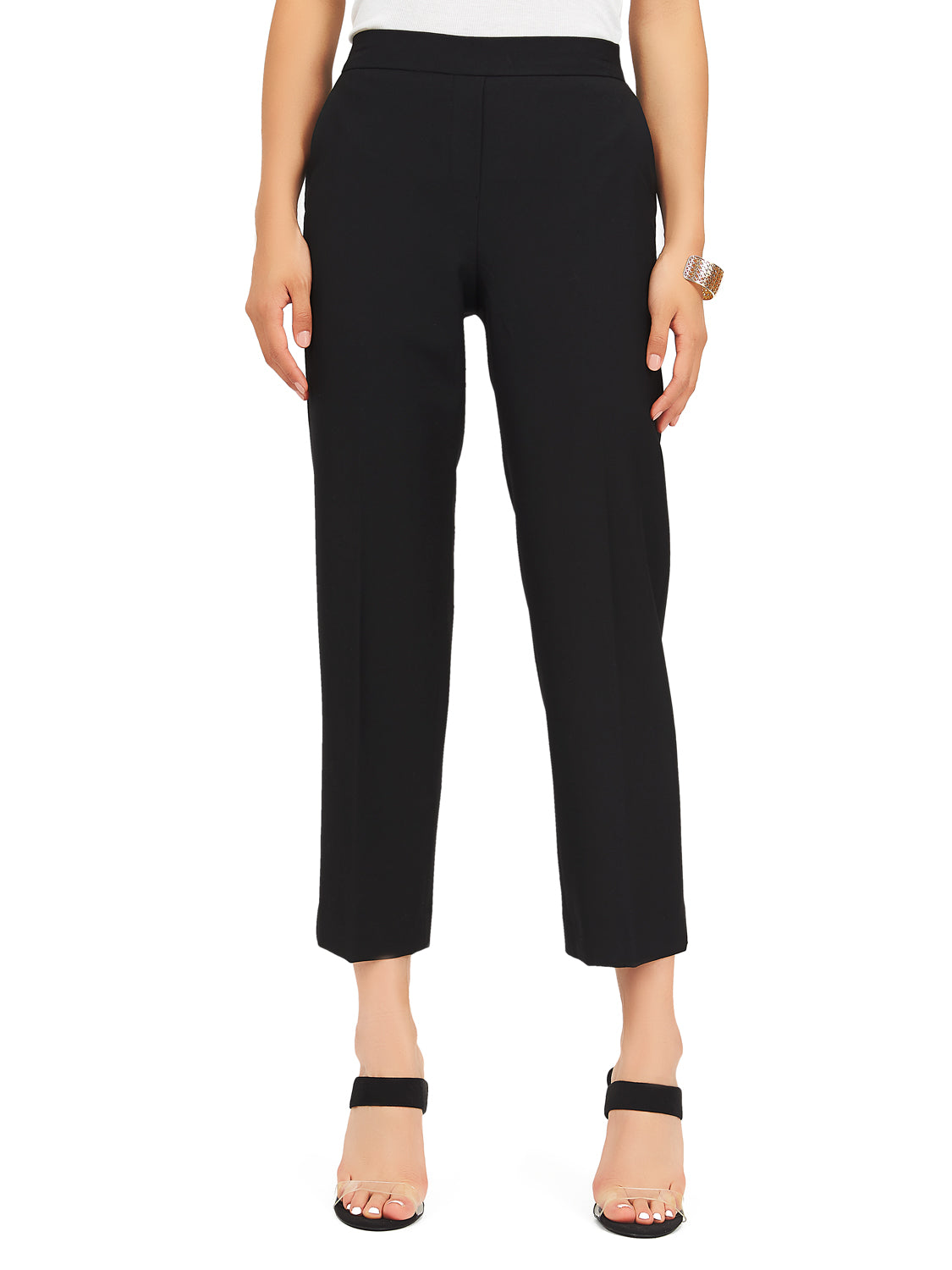 Pull-On Cropped Pants