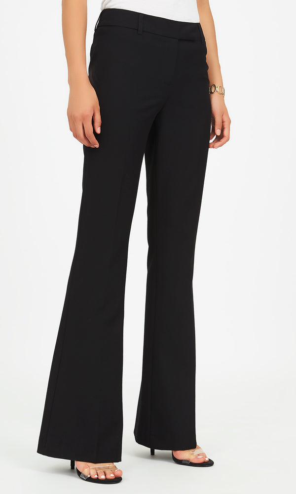 Woven Fit & Flare Pants