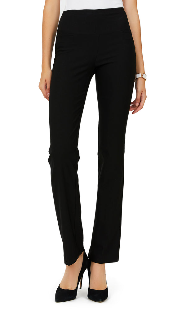 Straight Leg Twill Pants