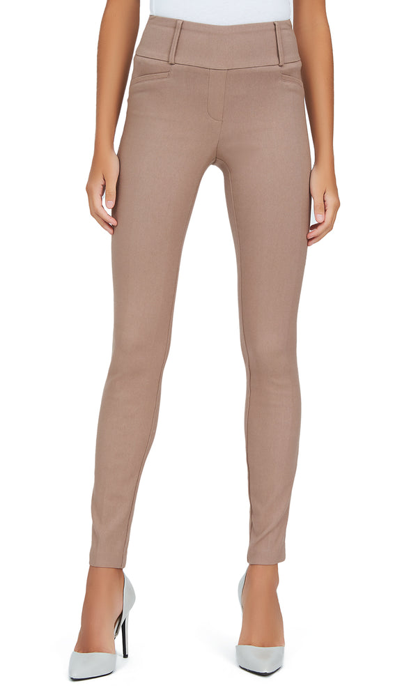 Reece Pocket Jacquard Pull-On Pants