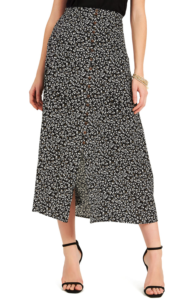 fa3afd6af3544 ... Printed Button-Down Maxi Skirt