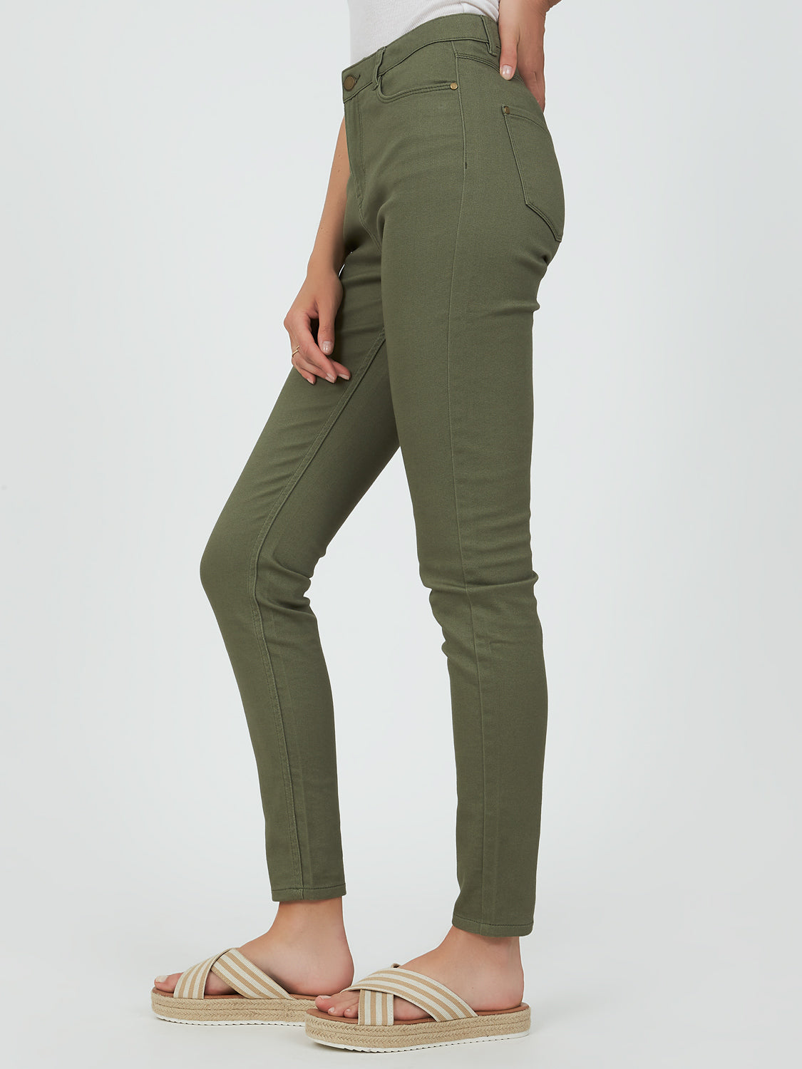 Skinny Fit High-Rise Jeans