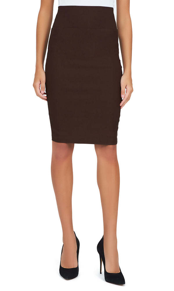 Millennium Pull-On Pencil Skirt