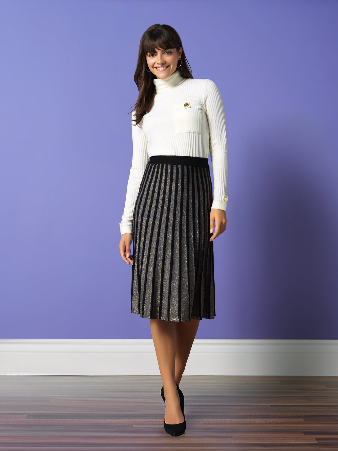 A-Line Sweater Skirt