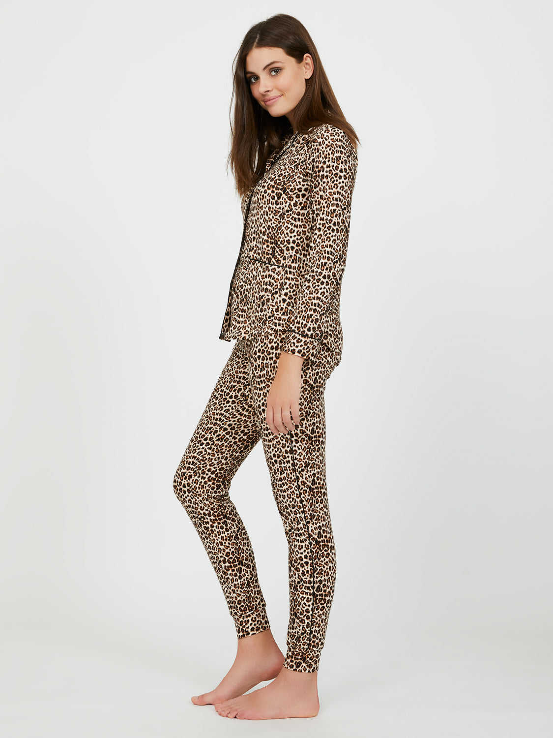 2-Piece Animal Print Pyjama Set