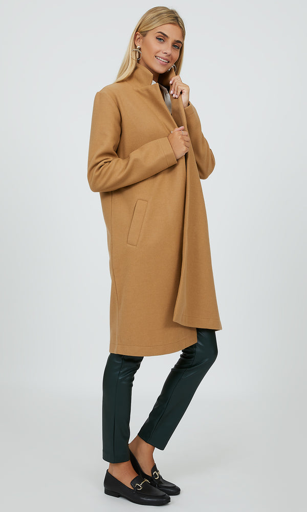 Open Front Car Coat
