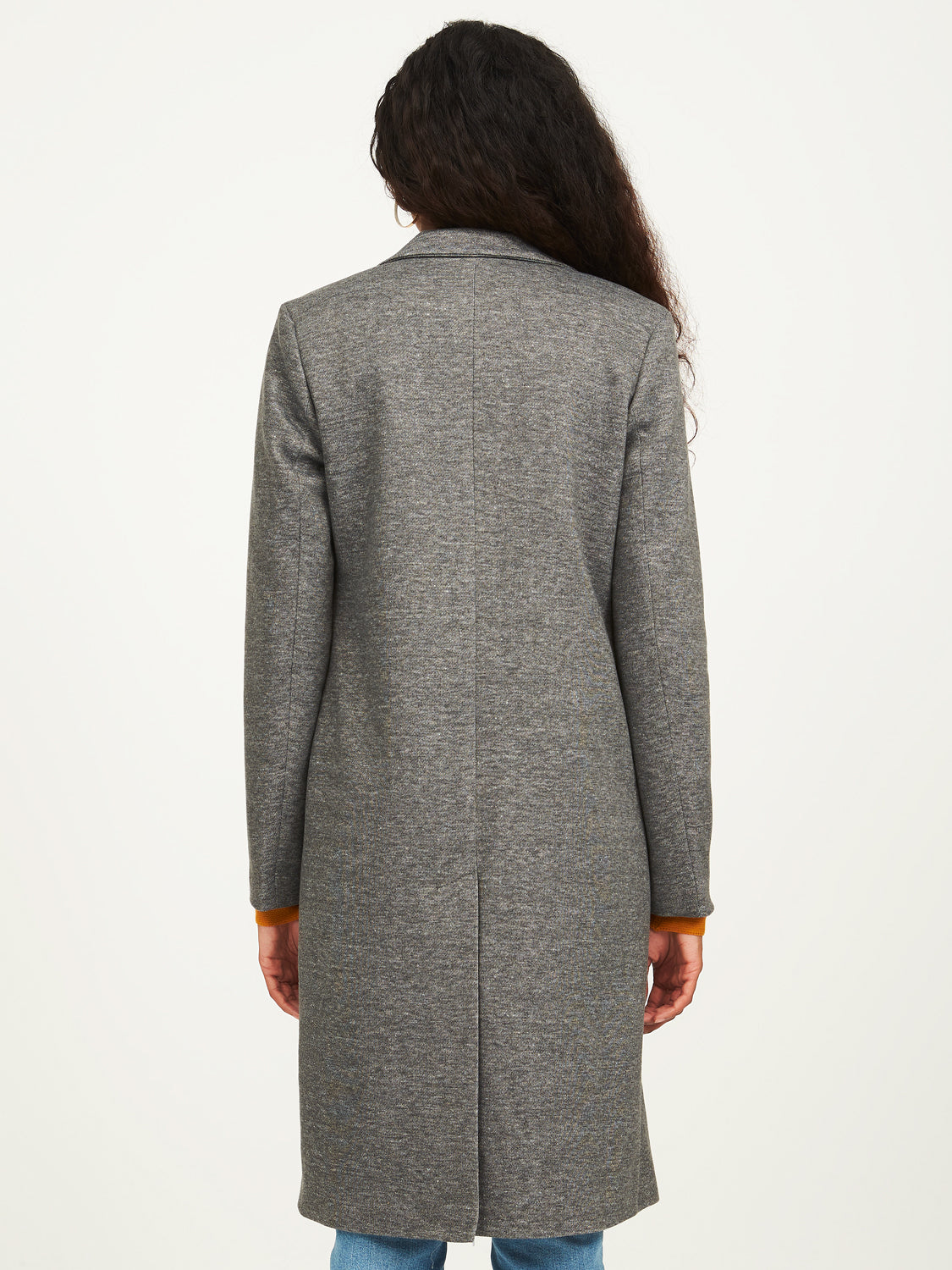 Long Fleece Coat