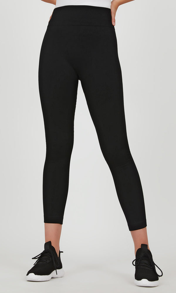 Textured Fleece Lined Legging