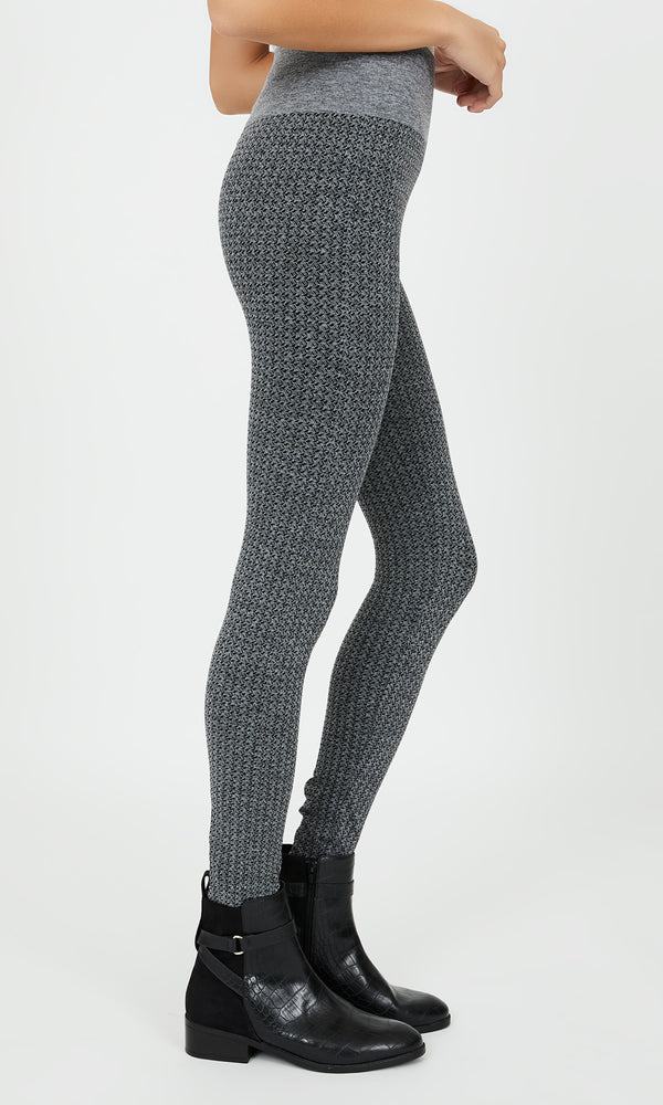 Fleece Lined Knit Leggings