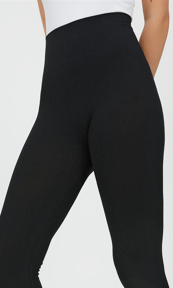 Lurex Fleece Lined Legging