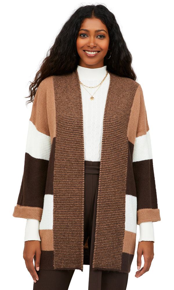 Patchwork Sweater Duster