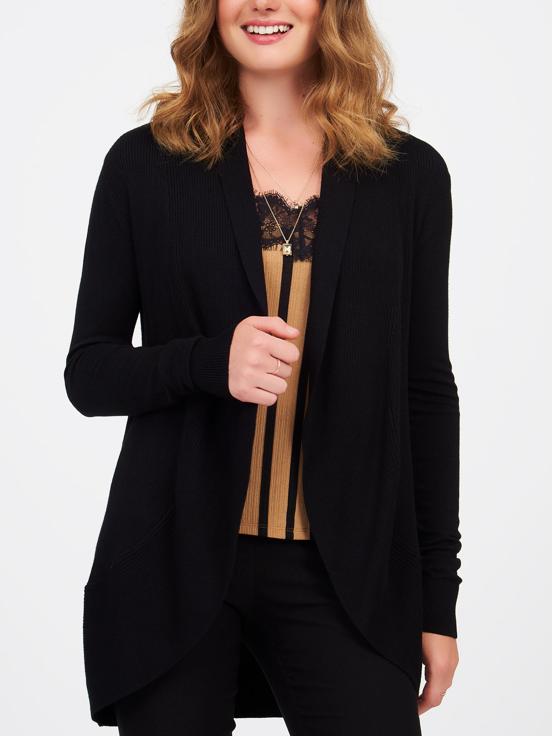 Long Sleeve Sweater Duster