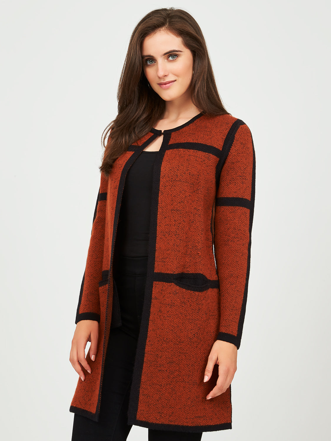 Long Sleeve Sweater Coatigan