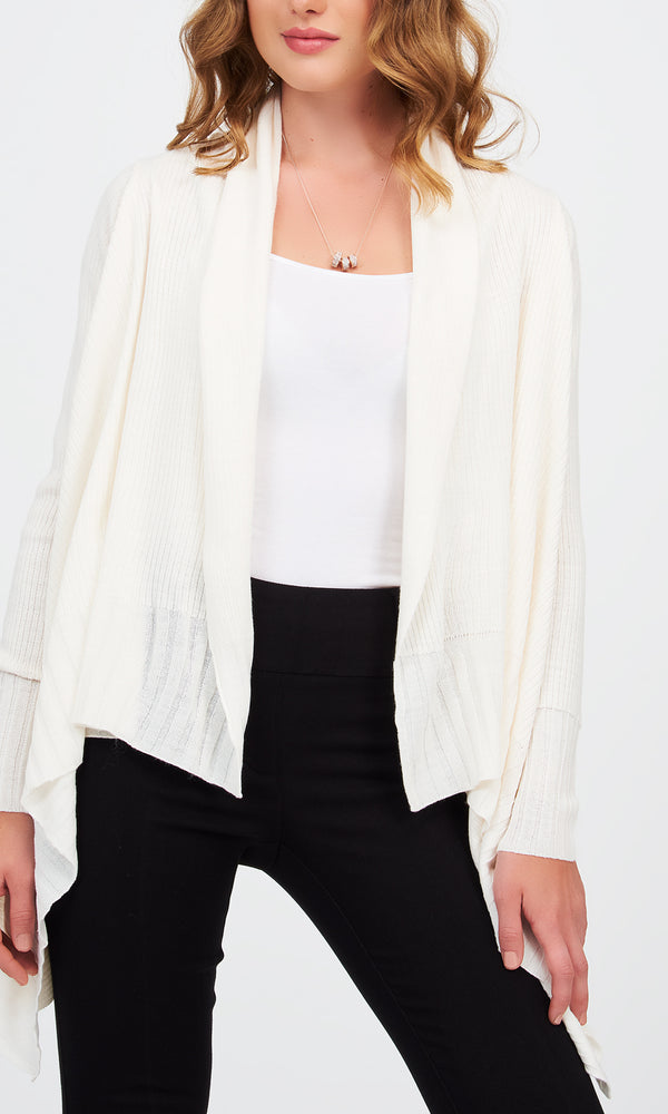 Cascading Sweater Duster