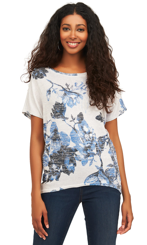 Sublimation Print Short Sleeve Tee