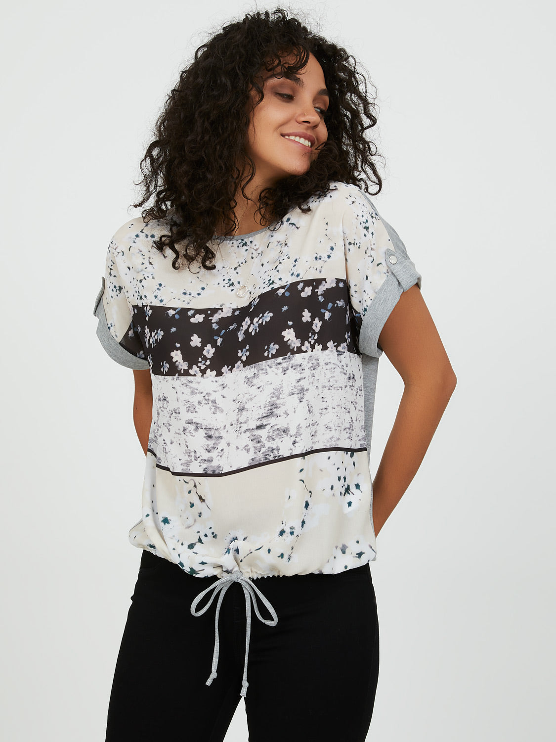 Easy Printed Drawstring Tee