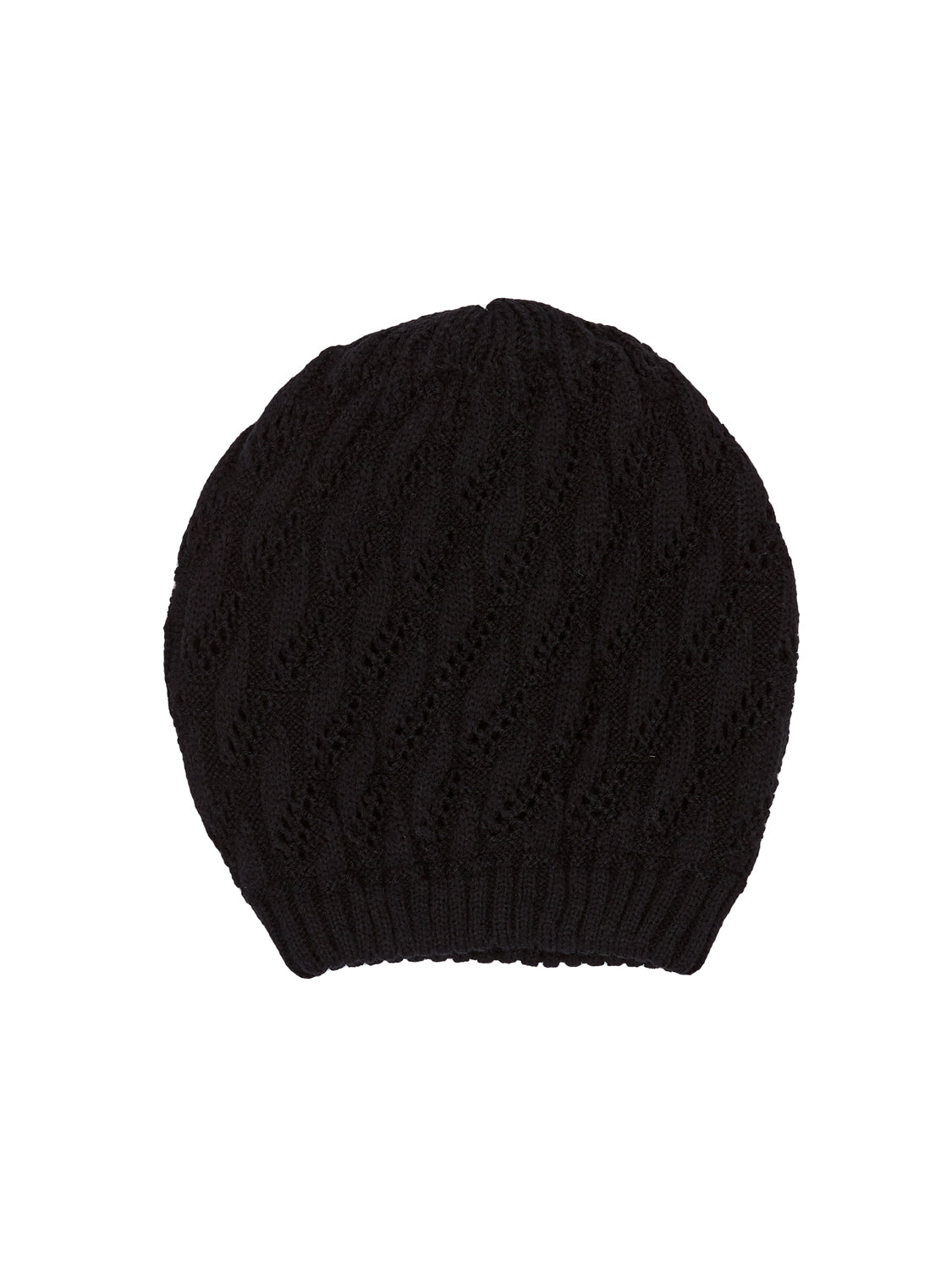 Knit Bean Hat
