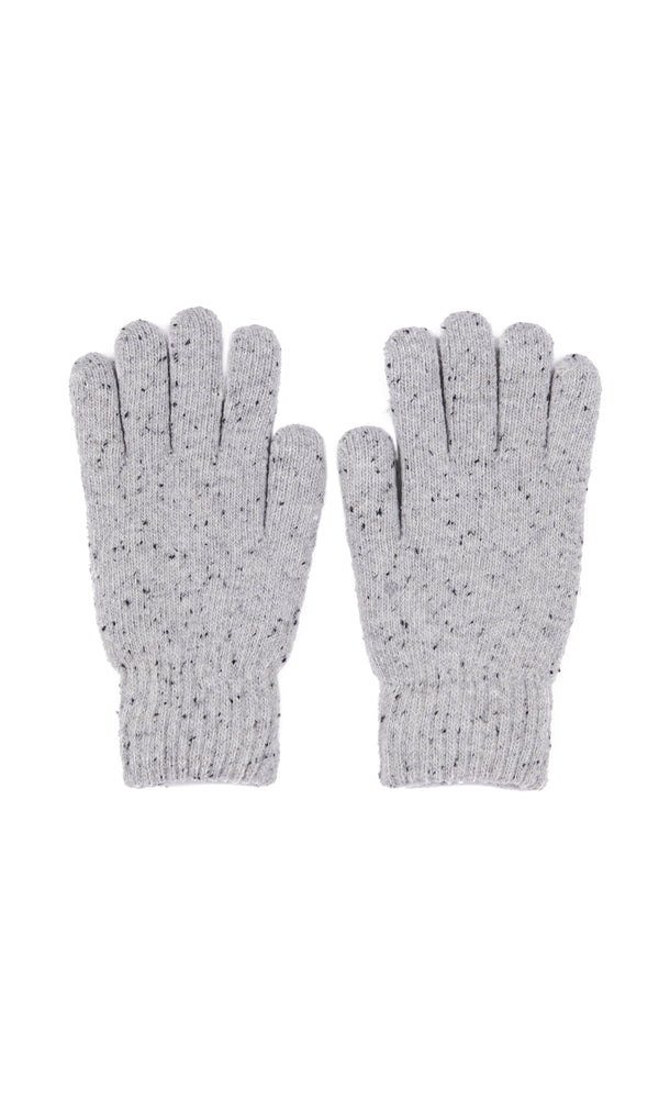Cable Speckle Knit Glove