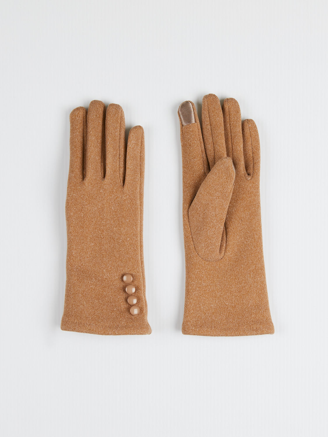 3-Button iTouch Gloves