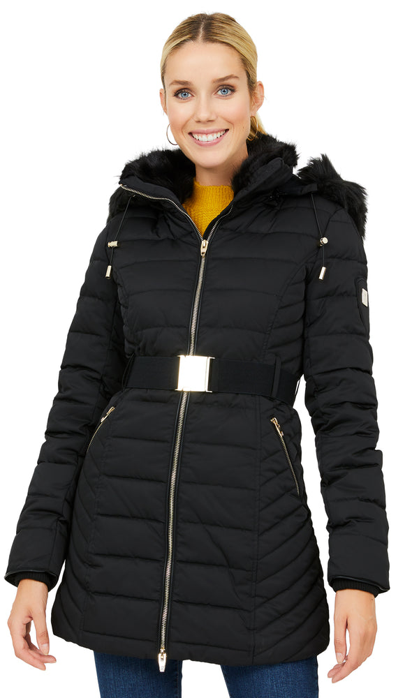 Down-Filled Puffer Coat