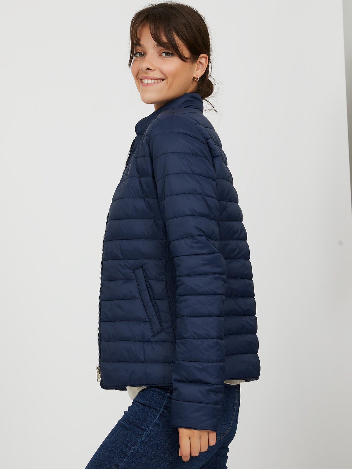 Fitted Puffer Jacket