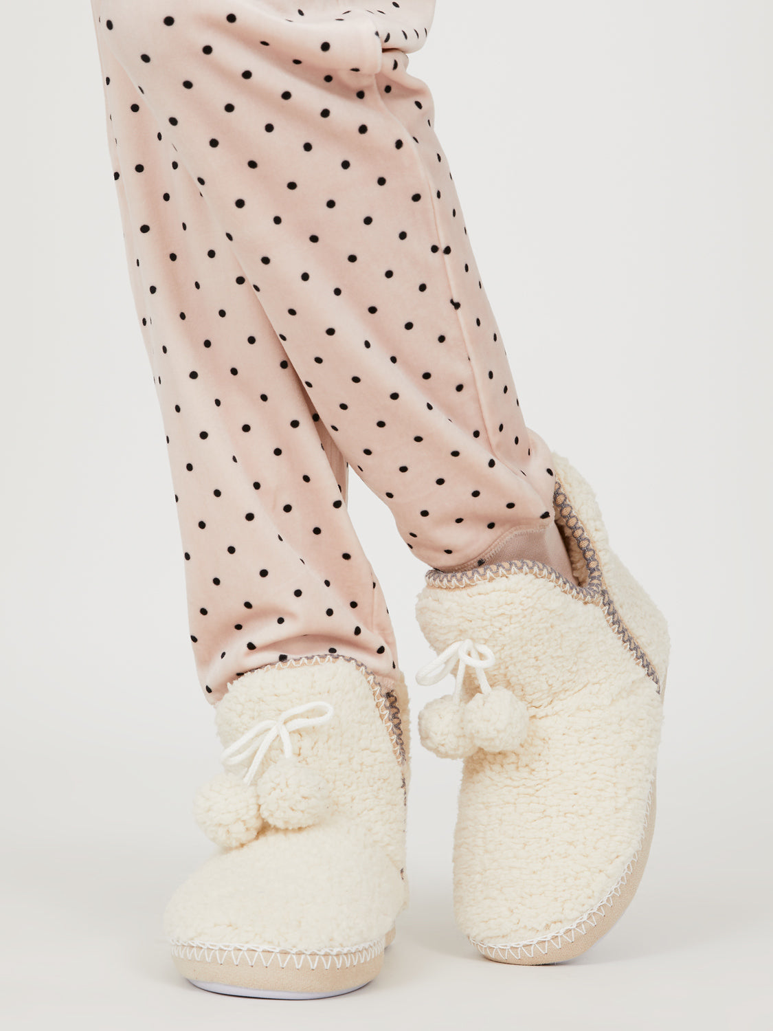 Sherpa Slipper Booties