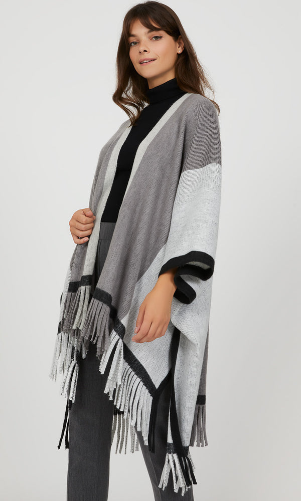 Colour Block Cape
