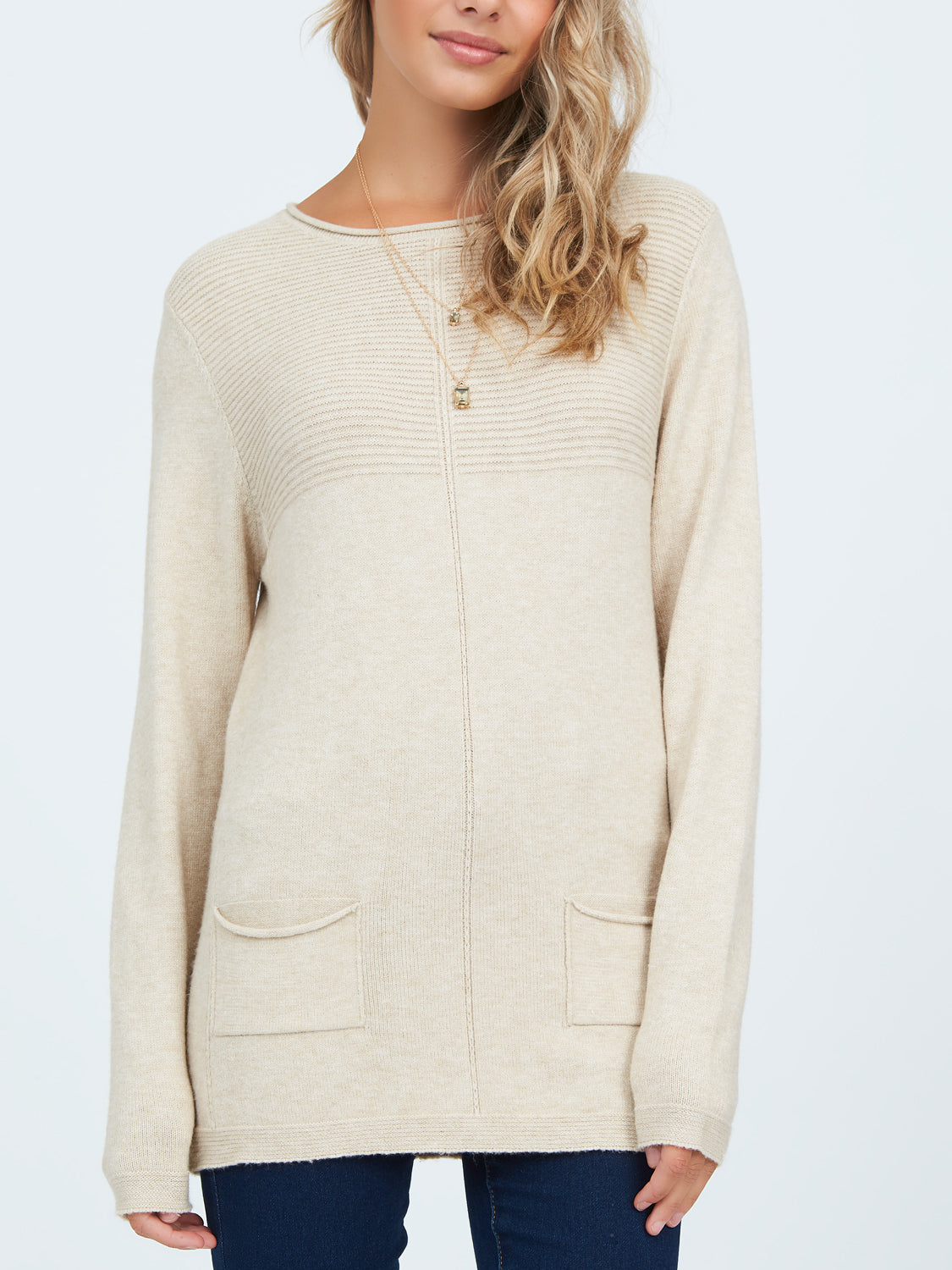 Multistitch Knit Sweater