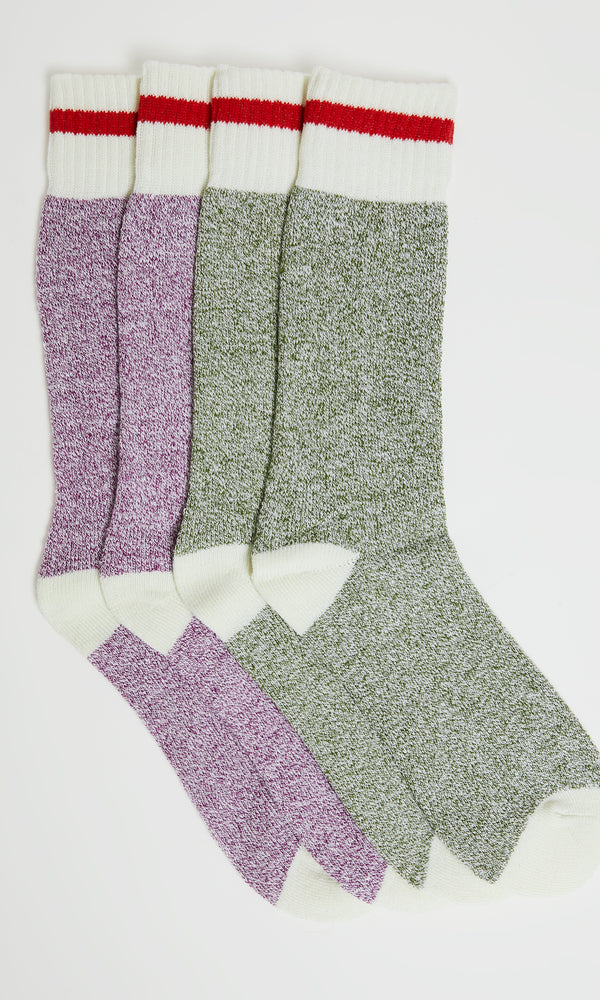 2-Pack Thermal Knit Socks