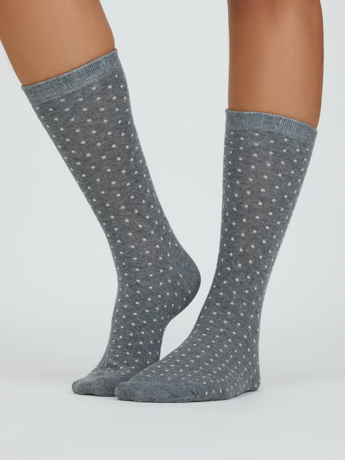 Mini Dots Crew Socks