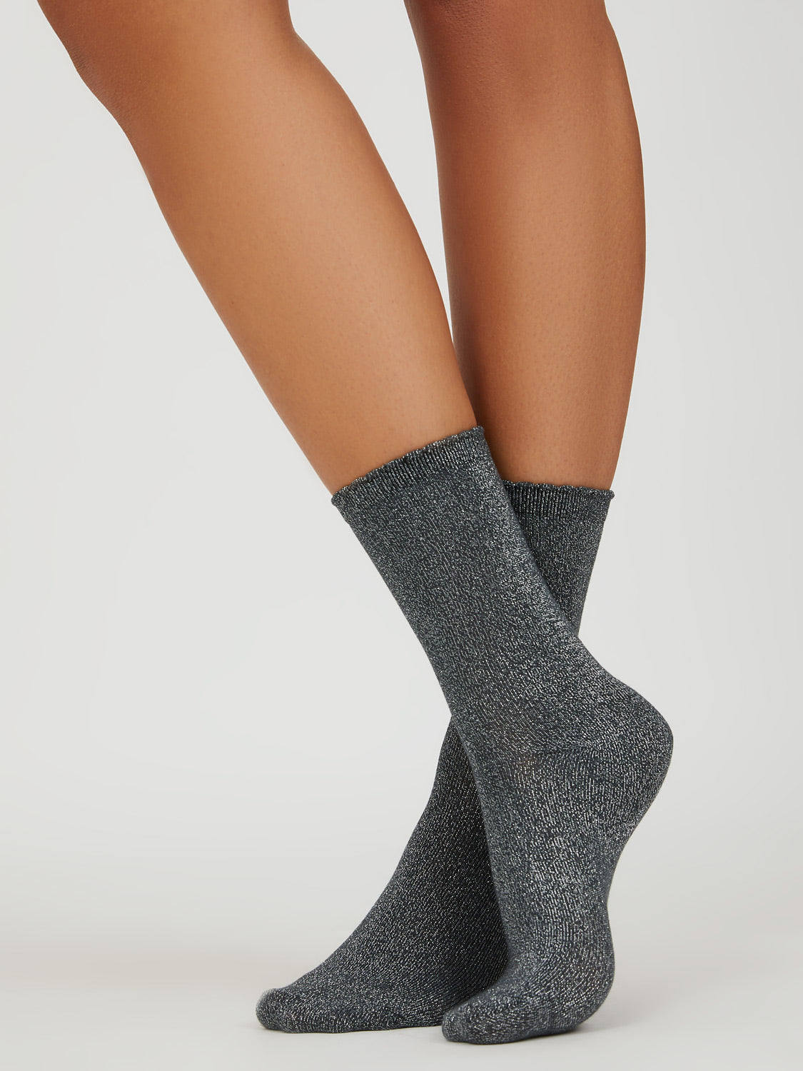 Metallic Crew Socks - Pack of 3