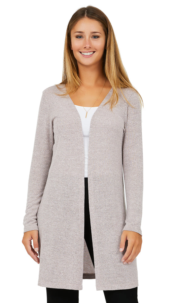 Long Sleeve Cardigan Tunic