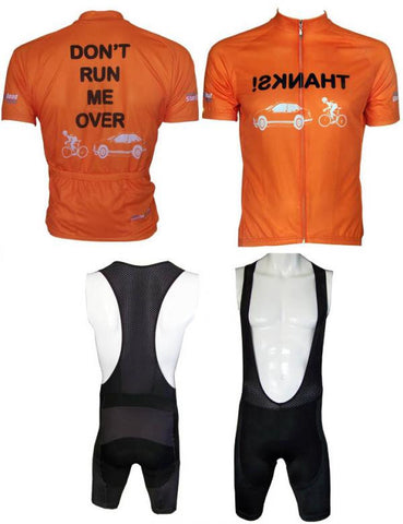Dont Run Me Over Jersey and Corbah Bib Shorts