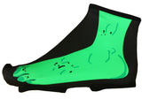 Green Monster Cycling Shoe Covers