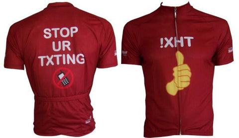 STOP UR TXTING Ver. 3.0 Cycling Jersey