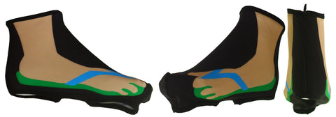 Thong Sandal Cycling Shoe Covers