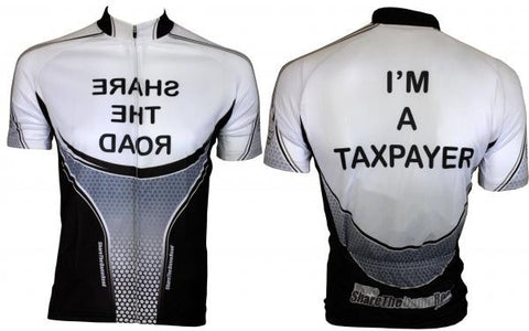"""I'M A TAXPAYER"" Cycling Jersey"